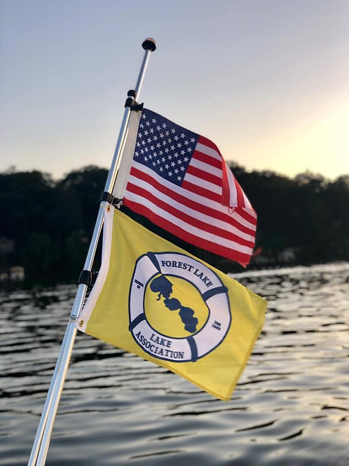 Single-sided FLLA Boat Flag
