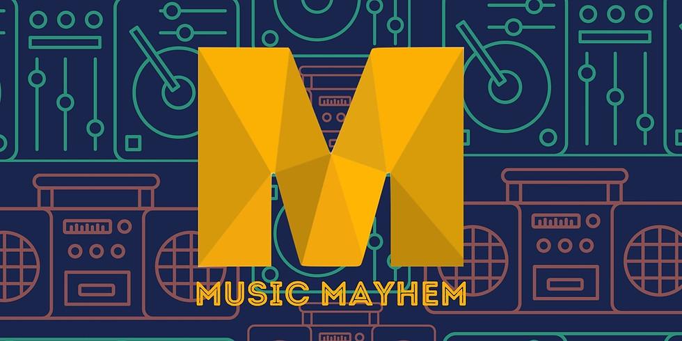 MUSIC MAYHEM TRIVIA TUESDAY