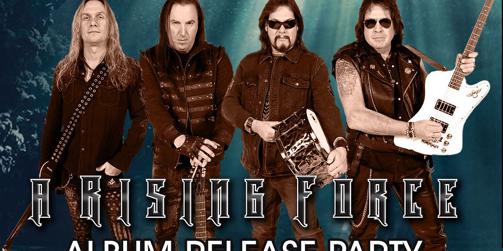 A RISING FORCE Album Release Party with Special Guest Revved UP