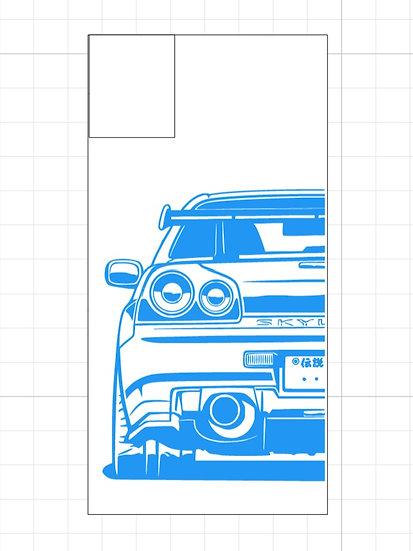 GTR R34 Outline