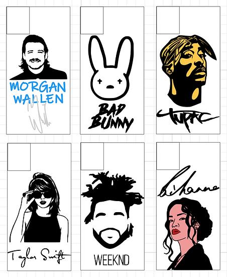 Popular Music Artists