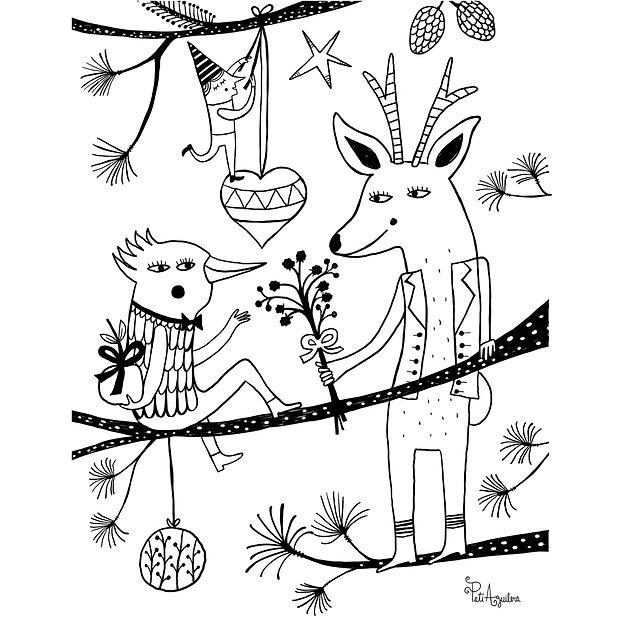 Navidad para colorear_pati aguilera.jpg