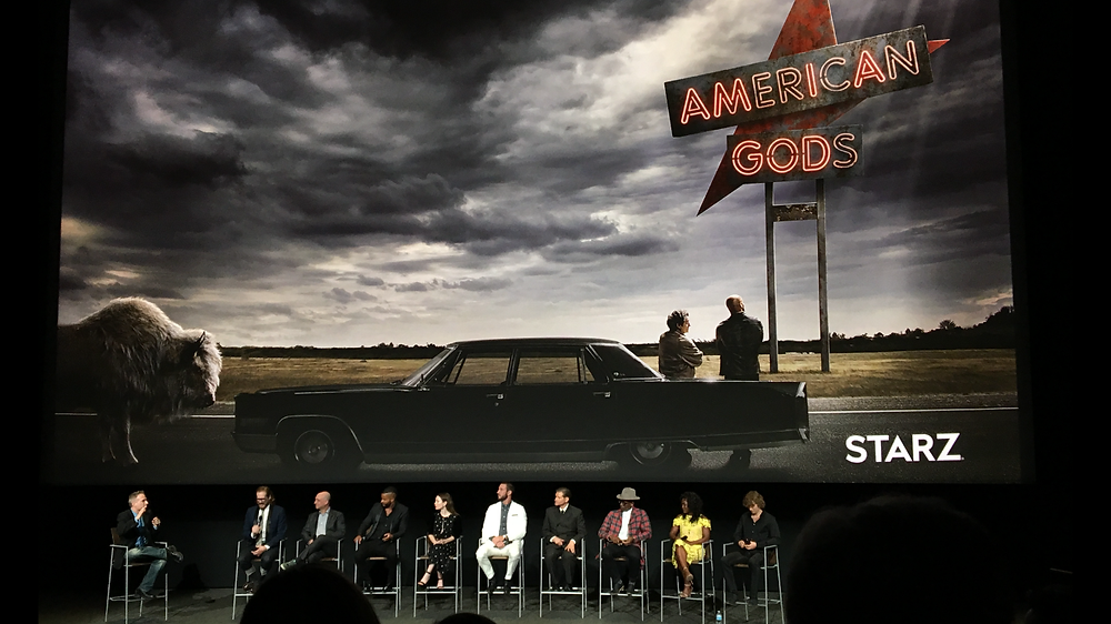 An image from the American Gods FYC Emmy Event at the Television Academy