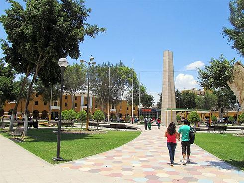 Plaza de Armas Ica Peru