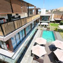 Vista desde la terraza de nuestro apartamento Dúplex
