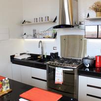 Cocina equipada de nuestro apartamento (1 piso).