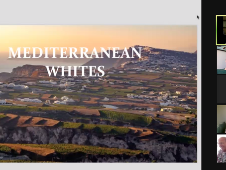 virtual Tasting: Mediterranean whites