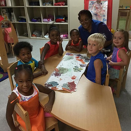 Our #preschoolers did some painting #Thu