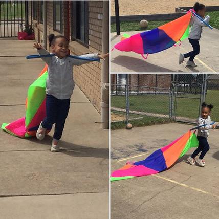 What do you get when you mix a parachute