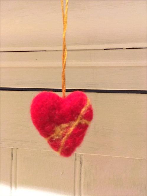 Kintsugi Stories -heart ornaments