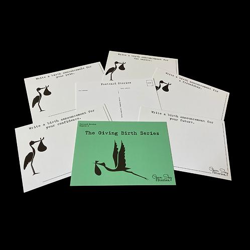 Postcard Stories - Giving Birth Series