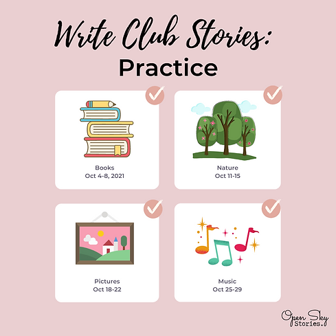 Join Write Club Stories: Practice