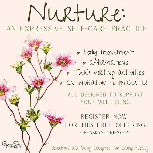Nurture: an expressive self-care practice
