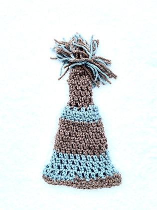 Pom Pom Chunky Knit Striped 03