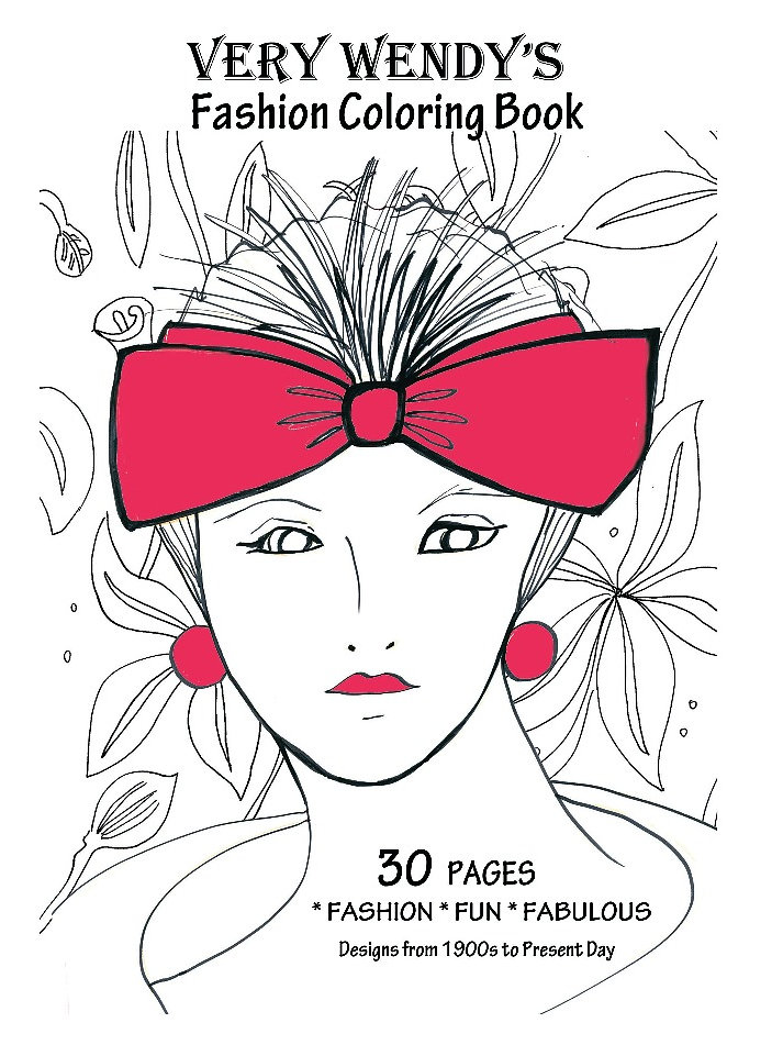 Coloring Book For Fashion : Very wendy yoga and art studios los angeles wendys fashion