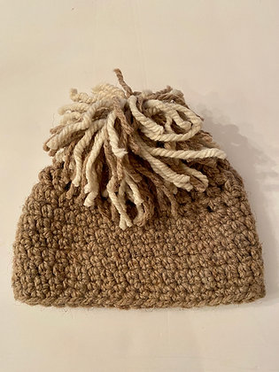 Chunky Knit Pom Pom 17