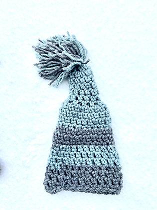 Pom Pom Chunky Knit Striped 09