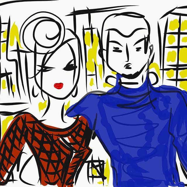 #happy #couple #nyc #brightlights #digit