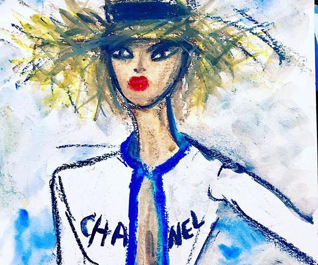 Fashion week inspo-_-_-_#fsw #fashionart