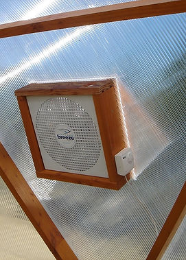 ventilateur  serre dome