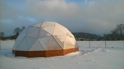 neige serre dome