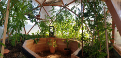 Tiny serre dome atelier, Blesle