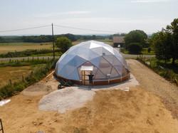 serre dome communautaire 12.5M