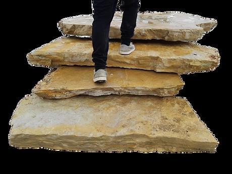 pedra para escadaria exterior