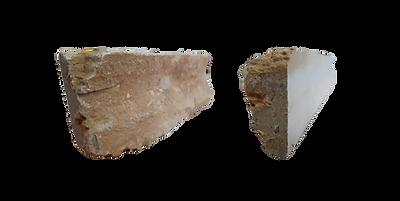 Bordas de pedra rústica
