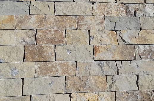 Tacos de pedra rústica