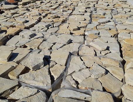 Pedra rústica para chão exterior