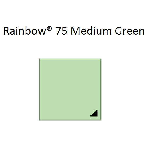 Rainbow® 75 Medium Green A4