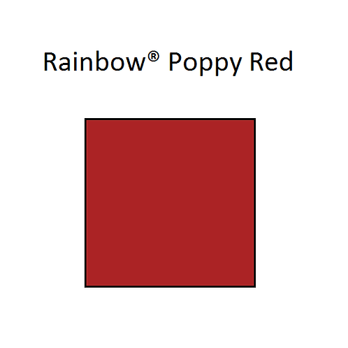 Rainbow® Poppy Red A4