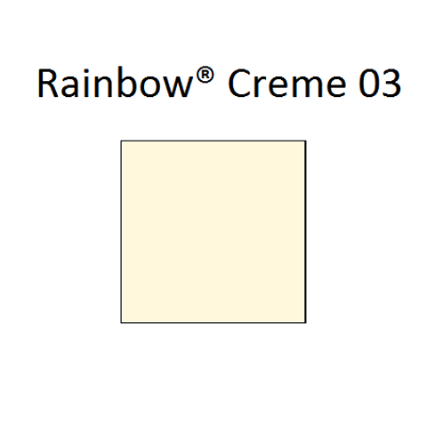Rainbow® 03 Creme A4