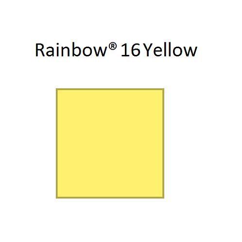 Rainbow® 16 Yellow A4