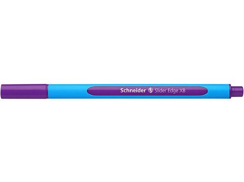 Schneider balpen Slider Edge XB 1,4mm paars