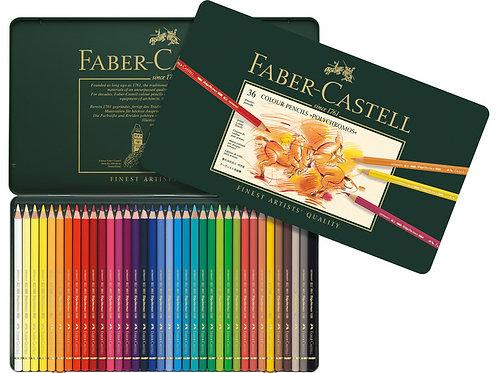 Faber-Castell kleurpotlood Polychromos etui à 36 stuks