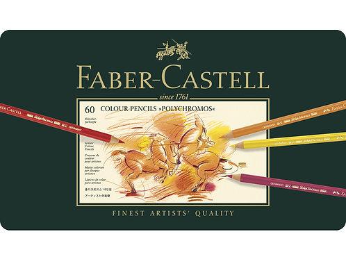 kleurpotlood Faber-Castell Polychromos etui à 60 stuks