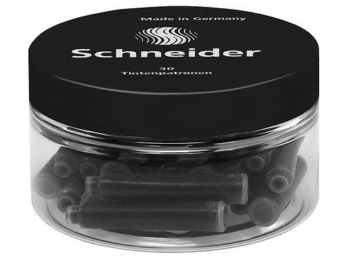 Schneider inktpatronen container à 30 stuks zwart