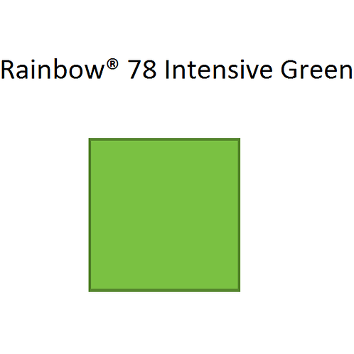 Rainbow® 78 Intensive Green A4