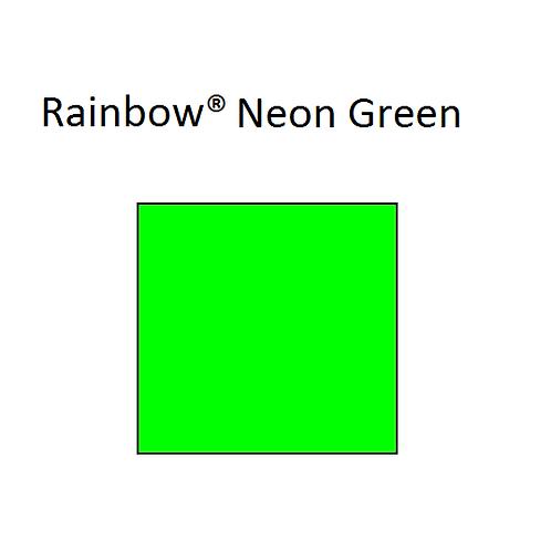 Rainbow® Neon Green A4