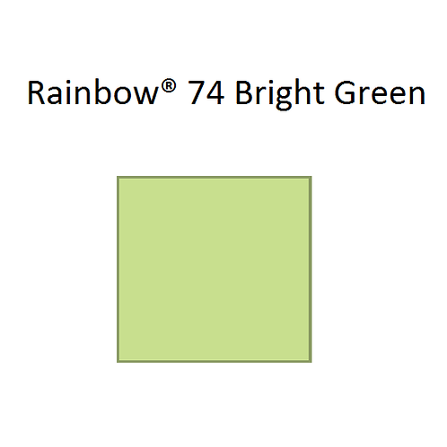 Rainbow® 74 Bright Green A4