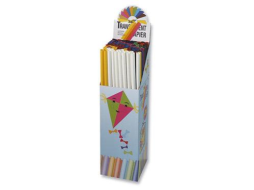 vliegerpapier Folia 70x100cm transparant wit