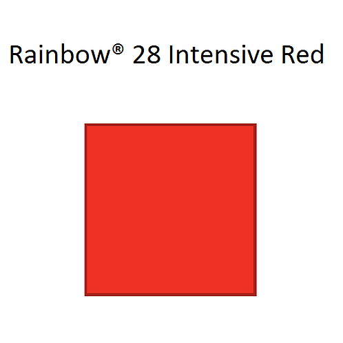 Rainbow® 28 Intensive Red A4