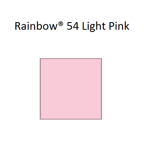 Rainbow® 54 Light Pink A4