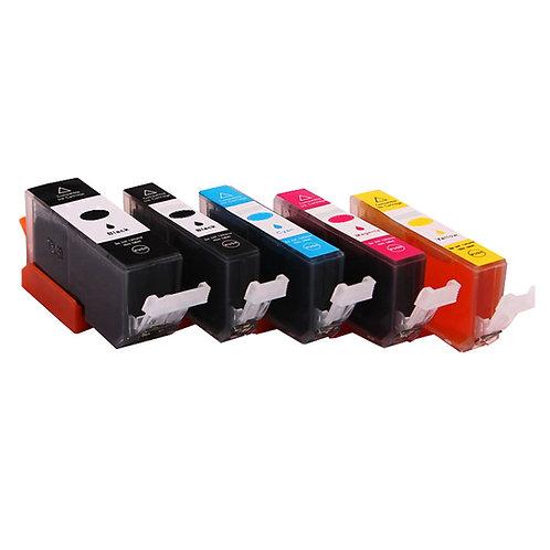 Replacement Canon pgi-570/cli-571  set cartridges (5 stuks totaal)