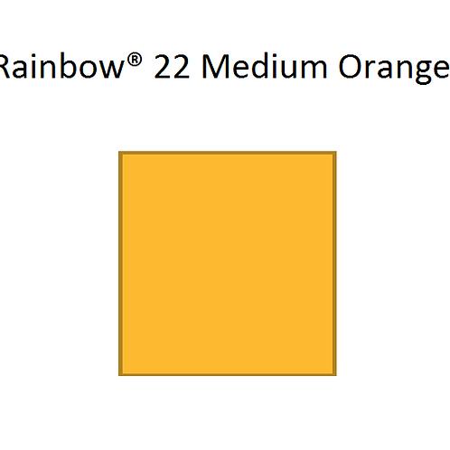 Rainbow® 22 Medium Orange A4