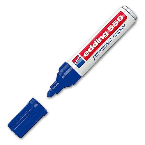 Edding Permanent marker 550 Blauw
