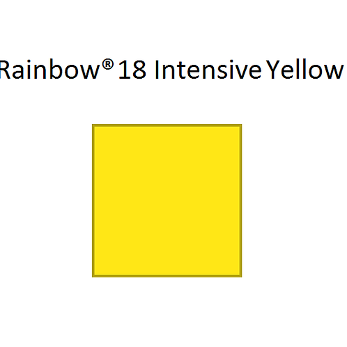 Rainbow® 18 Intensive Yellow A4