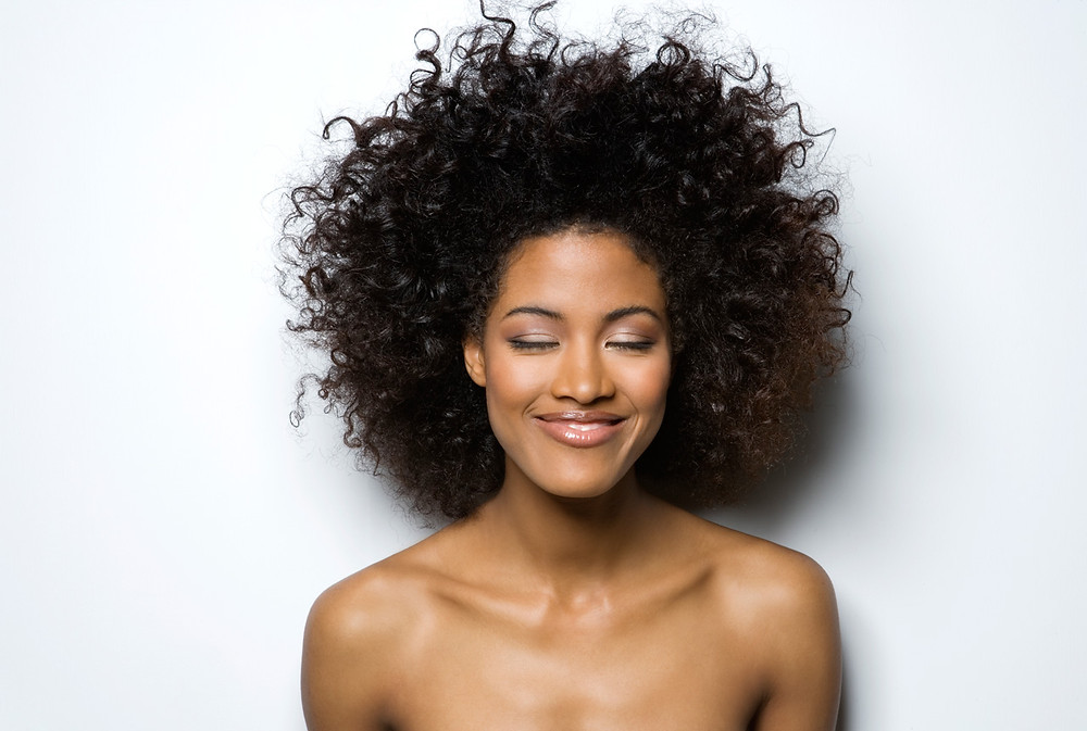 happy, afro, beauty, happiness
